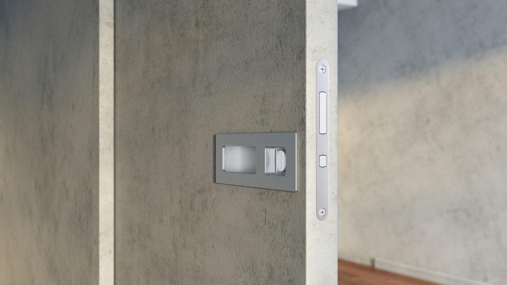 Maniglia invisibile per porta scorrevole